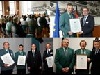 GERMANY: several Customs officers were awarded WCO Certificates of Merit on ICD 2015 for their special contribution to CBM. All of them distinguished themselves by bringing together governement agencies involved in the control of goods at the national or international level.