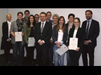 GERMANY: the members of the IT team who developed the electronic export procedure component of 'ATLAS' – the German Automated Tariff Classification and Local Customs Clearance System – each received a WCO Certificate of Merit on the occasion of ICD 2015.