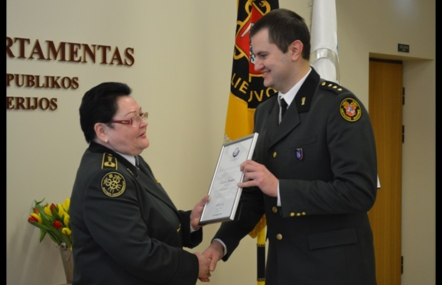 LITHUANIA: WCO Certificates of Merit were awarded to officials from Lithuanian Customs and other institutions operating in close interaction with the Customs service in celebration of ICD 2015.