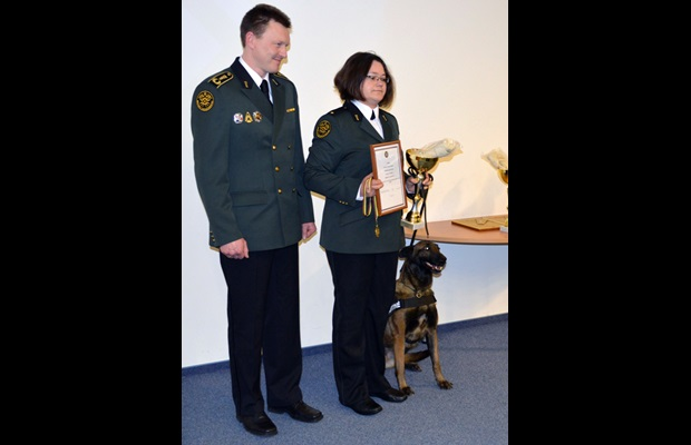 LITHUANIA: As part of the ICD 2015 celebrations, master-dog teams were awarded for their achievement during the year 2014.