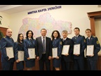 UKRAINE: seven Customs officers were awarded a WCO Certificate of Merit on ICD 2015.