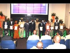 CÔTE D'IVOIRE: The Deputy Minister of Budget (sixth left), who sponsored the event, attended the ICD 2017 celebration during which Customs officials were rewarded for their outstanding work in the field of data analysis, the WCO's theme for 2017.