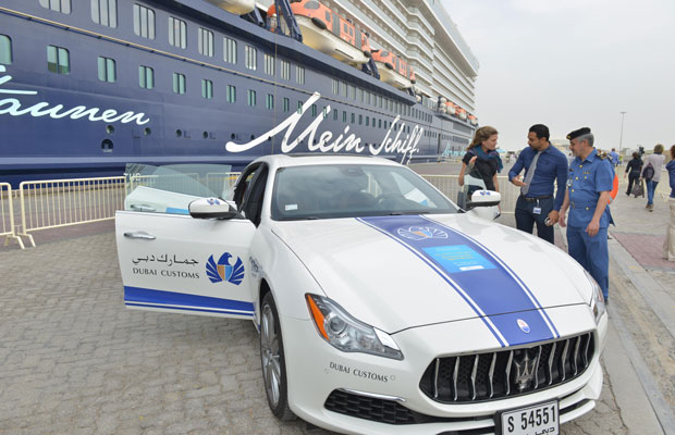 DUBAI: International Customs Day 2017 was celebrated by Dubai Customs for a whole week during which they engaged with the general public through various means including the showcasing of this luxury sports car.