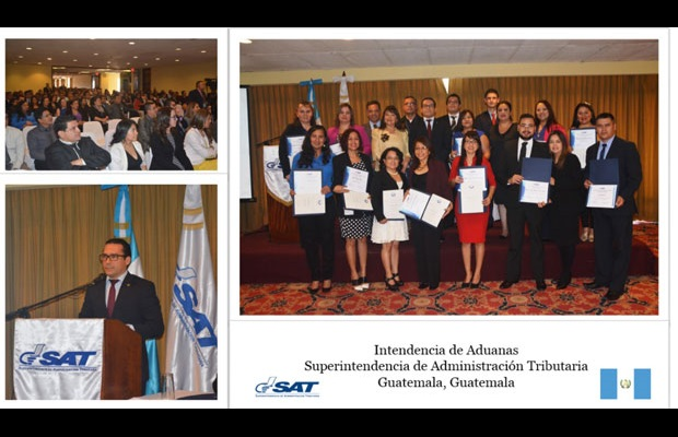 GUATEMALA: International Customs Day 2017 was used as a platform to recognize the excellent work of officers and institutions during 2016 who had contributed to improving, for example, relations with the private and public sector, Customs management, data analysis for investigations, etc.