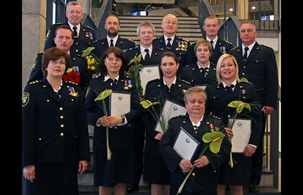 LATVIA: The National Customs Board of the State Revenue Service (SRS) welcomed the opportunity provided by International Customs Day 2017 to show its gratitude and appreciation for the remarkable work and dedication demonstrated by its Customs staff. WCO Certificates of Merit were presented to several Customs officers who had made an exceptional contribution to achieving the goals of the SRS National Customs Board in 2016.