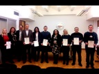 FORMER YUGOSLAV REPUBLIC OF MACEDONIA: As is the case every year, the Customs Administration of the Former Yugoslav Republic of Macedonia celebrated International Customs Day on 26 January 2017, taking this occasion to award WCO Certificates of Merit to some of its staff.