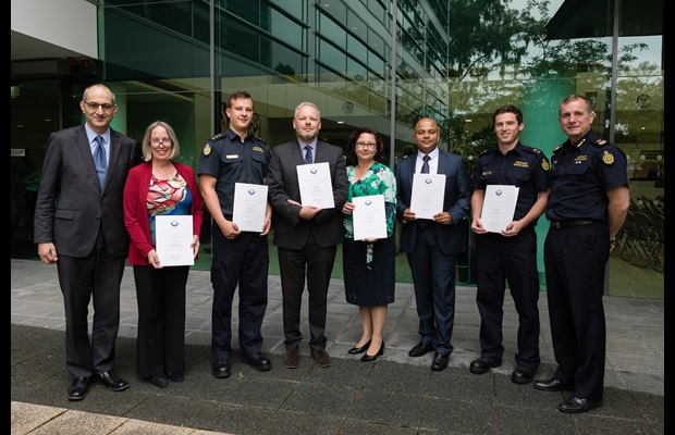AUSTRALIA : The Secretary of the Department of Home Affairs, and the Acting Commissioner of the Australian Border Force attended Australia's ICD 2018 celebration, during which they presented an award to the Green Lane Trial team, recognizing their drive and commitment to address the challenges of ever increasing volumes of international mail.