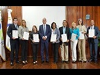 DOMINICAN REPUBLIC : At the occasion of the ICD 2018, Enrique Ramírez Paniagua, the DG of the General Directorate of Customs, awarded WCO Certificates of Merit to nine employees of the institution as well as to some public and private entities for their contributions to Dominican Customs.
