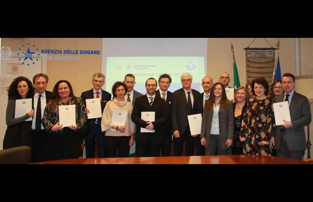 "ITALY : WCO Certificates of Merit were awarded to Customs officials who had shown a true commitment to creating ""A secure business environment for economic development,"" the ICD theme for 2018."