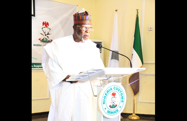 NIGERIA : An official ceremony took place in Abuja to celebrate ICD 2018, which was attended by many high-level dignitaries such as the Minister of Finance represented by the Director of Home Finance, Mrs Olabunmi Bola, as the guest of honour. In the picture, the Comptroller General of Customs, Col. Hameed Ali, is seen delivering his opening remarks. WCO Certificates of Merit were awarded to 21 Customs officers, to departments of the Customs service, as well as to private organizations and government agencies.
