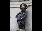 "BELGIUM : The famous ""Manneken-Pis"" statue in Brussels was clothed in the official uniform of Belgium Customs to mark ICD 2019, a spectacle that draws locals and tourists alike, while Customs officers and Customs attachés were awarded a special medal for their merits and contributions to the Customs community."