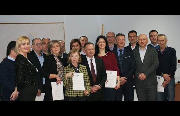 "BOSNIA & HERZEGOVINA : The Indirect Taxation Authority (ITA) awarded WCO Certificates of Merit to officers for their commitment to the ""SMART borders"" theme on the occasion of ICD 2019, and expressed its gratitude to ITA officers for the achievements they had made through their performance and dedication to the various areas of work within the Customs domain."