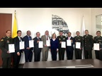 "COLOMBIA : Colombia Customs celebrated ICD 2019 at which occasion Customs officers were awarded WCO Certificates of Merit for their contributions to the ""SMART borders"" theme."
