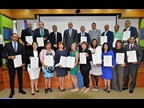 "DOMINICAN REPUBLIC : On the occasion of ICD 2019, the Director General of the General Directorate of Customs awarded WCO Certificates of Merit to Customs officials and representatives of the public and private sector in recognition of their contributions to the ""SMART borders"" theme; the event took place at the WCO Regional Training Centre in Santo Domingo."