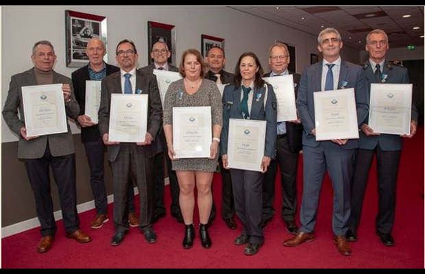 "THE NETHERLANDS : To mark ICD 2019, Certificates of Merit were awarded to 10 Dutch Customs Officers for their contributions to the ""SMART borders"" theme."