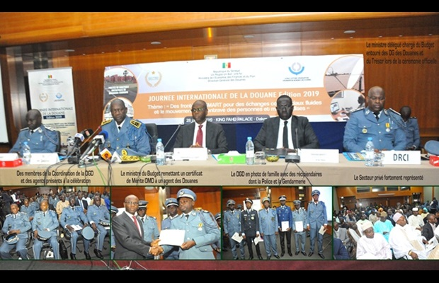 "SENEGAL : With more than 300 participants taking part in the ICD 2019 celebrations in Dakar, the ""SMART borders"" theme brought together the private sector, the police, the gendarmerie and the Senegalese Customs around a panel; speeches focused on"