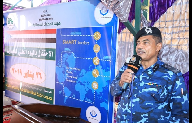 "SUDAN : The Sudan Customs Authority (SCA) celebrated ICD 2019 under the WCO ""SMART borders"" theme, with an audience that included Customs officers as well as private and public sector representatives, during which the Head of the SCA briefed participants on the significance of this international event."