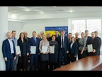 "UKRAINE : During the ICD 2019 celebrations by the State Fiscal Service (SFS) of Ukraine, 17 officials and three representatives from other government agencies were awarded WCO Certificates of Merit, at which occasion the Acting Chairman of the SFS conveyed the importance of the WCO ""SMART borders"" initiative while pledging closer cooperation with the WCO to advance the further modernization and development of Ukraine's Customs legislation."