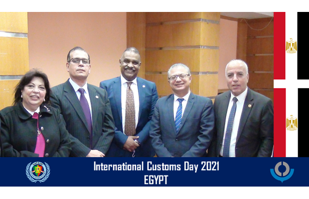 EGYPT : Customs officials from all over Egypt, from north to south and east to west and of all cultures, religions and races, gathered together to celebrate ICD 2021.