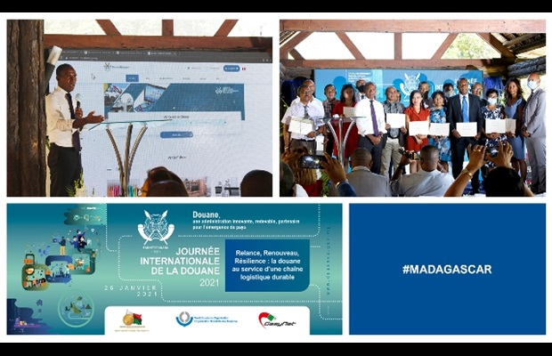 MADAGASCAR : Malagasy Customs celebrated ICD 2021 in Toamasina, the city which is home to Madagascar's largest port and which forms the country's economic lungs. Customs gave a presentation on its brand new information portal and its surveillance platform for leisure boats, the BSN/i-ONE project, developed in collaboration with Mauritius Customs. In addition, 20 officers were awarded a WCO Certificate of Merit for successfully performing their missions.