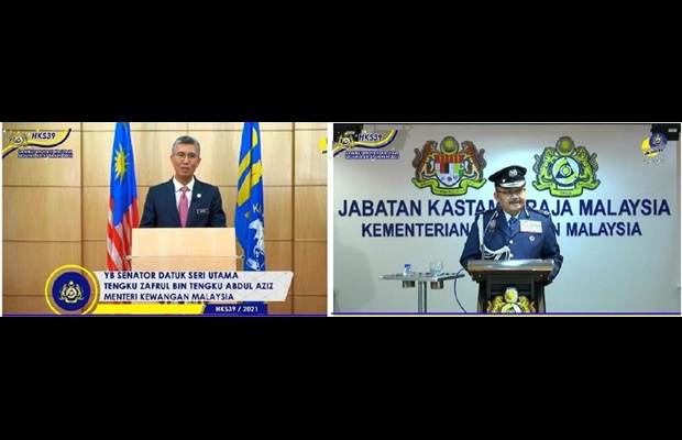MALAYSIA : The Royal Customs Department celebrated ICD 2021 via a Facebook live broadcast. The Honourable Finance Minister and the Director General of Customs gave speeches and the recipients of WCO Certificates of Merit were announced.