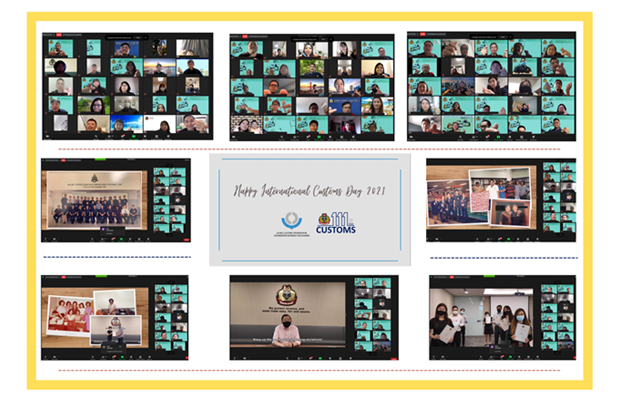 SINGAPORE : The photo illustrates how ICD 2021 was celebrated in Singapore. The celebrations were mostly held online.