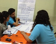 Nicaragua: Stakeholder Consultation Skills Training being held at DGA Headquarters in Managua