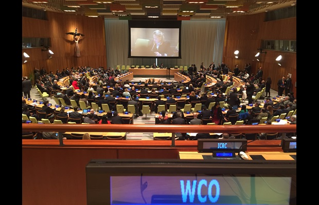 WCO participates in the United Nations General Assembly Special Session (UNGASS) on the world drug problem