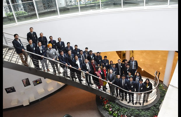 Fourth group of trainees from the Indian Revenue Service with WCO Deputy Secretary General Ricardo Treviño Chapa on 13 March 2018