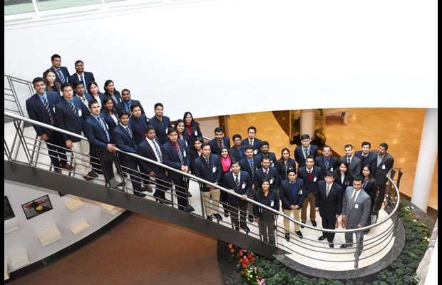 Third group of trainees from the Indian Revenue Service with WCO Secretary General Kunio Mikuriya on 6 March 2018