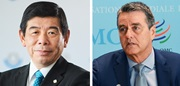 WCO Secretary General Kunio Mikuriya and WTO Director General Roberto Azevêdo