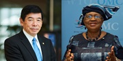 From left to right: Dr. Kunio Mikuriya, WCO Secretary General, and Dr. Ngozi Okonjo-Iweala, WTO Director General