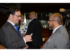 WCO Deputy Secretary General Sergio Mujica and Jamaica Customs Commissioner Richard Reese