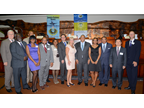 Main authorities participating in the event, including Mr. Peter Phillips, Minister of Finance and Planning, Mr. Anthony Hylton, Minister of Industry, Investment and Commerce, and Mr. Richard Reese, COE/Commissioner of Jamaica Customs, among others.