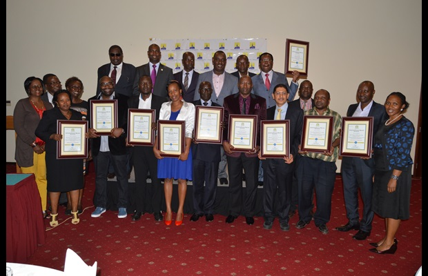 EAC Compliant companies awarded Regional AEO Certificates on 24th July 2015 in Kampala, Uganda by East Africa Community (EAC)