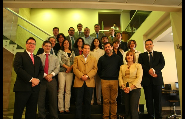 Participants and facilitators – LMD Workshop in Chile – December 2012