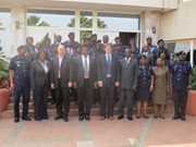 Commissioner General Mr. George Blankson, executive management of GRA, facilitators and participants at the WCO LMD Workshop Accra – December 2013