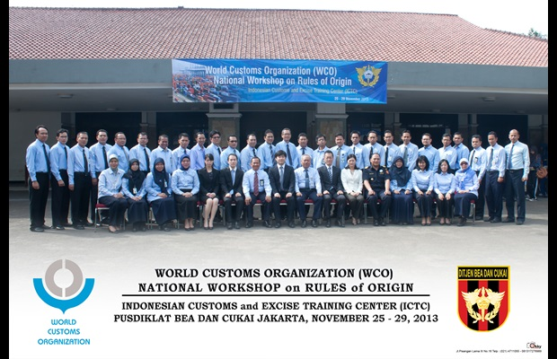 WCO National Workshop on Rules of Origin for Indonesia
