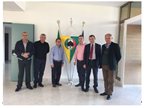 Albanian officers on a visit to the Italian port of Gioia Tauro in the framework of the WCO-UNODC Container Control Programme