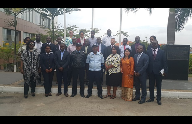National SAFE/AEO support mission in Angola