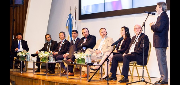 "The WCO and AFIP organized a round table on ""E-Commerce: Game changer for Customs, Trade and  Consumers"" during the WTO MC11 in Buenos Aires"