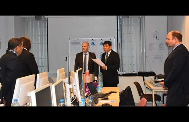 Visit by WCO Secretary General Kunio Mikuriya to members of the Operational Coordination Unit