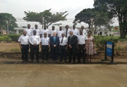Officers from URA and WCO facilitators at Entebbe International Airport training facilities