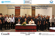UNODC-WCO Container Control Programme (CCP) Theoretical Training in Lao PDR launched