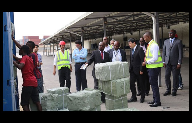 Onsite visits at dry ports were also on the programme