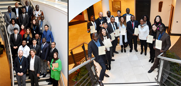 The theoretical part of the 74th WCO Fellowship Programme, intended for French-speakers, concluded in Brussels on Friday 16 February 2018.