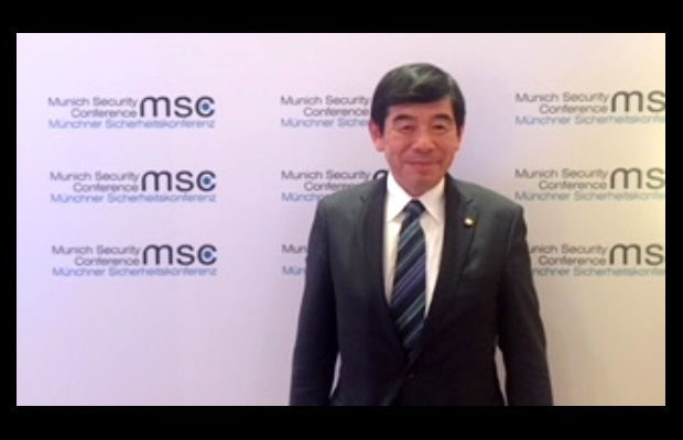 WCO Secretary General Kunio Mikuriya at the Munich Security Conference in Munich, Germany