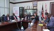 WCO Secretary General addressing KRA Management Team