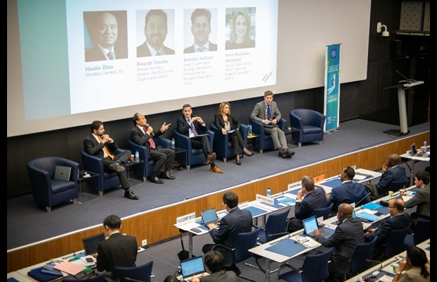 Other participants to this panel also included Mr. Houlin Zhao, ITU's Secretary General, Mr. Brendan Sullivan, Head of the E- Commerce & Cargo Operations, IATA, and Ms. Anna Morawiec, Deputy Legal Counsellor, WIPO