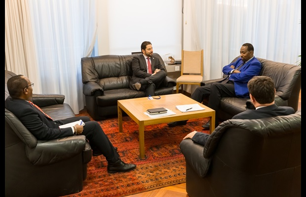 During his stay in Bern, WCO Deputy Secretary General also met with UPU's Director General and Deputy Director General
